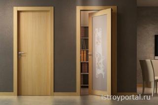 Как выбрать шпонированную межкомнатную дверь