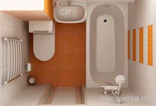Невозможное возможно: как разделить ванную и туалет