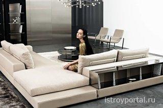 Итальянские диваны - угловые конструкции
