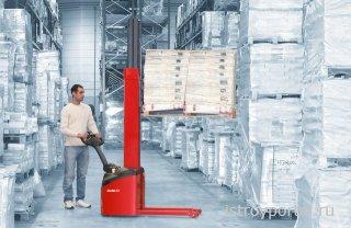 Как упростить эксплуатацию склада, использую штабелер электрический?