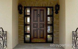 Как выбрать входную дверь для дачи