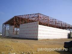 Особенности строительства складских помещений
