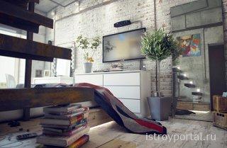 Оформляем интерьер в стиле лофт: выбор мебели и не только