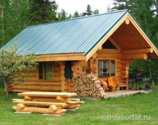 Из какого дерева лучше строить баню?