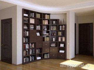 Встроенная мебель – удачное решение для любого помещения