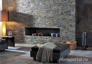 Использование гранита и натурального камня в интерьере