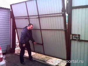 Советы по монтажу секционных ворот