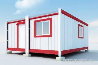 Выбираем бытовку для строительного участка с учетом материала изготовления