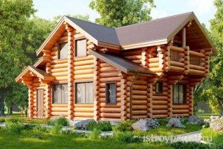 Деревянный дом – выбор ценителей экологичности
