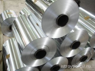 Использование алюминиевой ленты