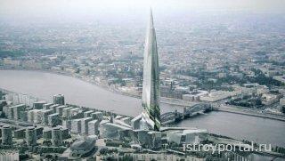 Санкт-Петербург претендует на звание города с самым высоким зданием