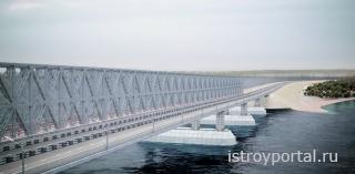 «Стройгазмонтаж» дал согласие на возведение ж/д подходов к Крымскому мосту