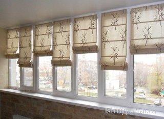 Какой цвет штор выбрать для балкона