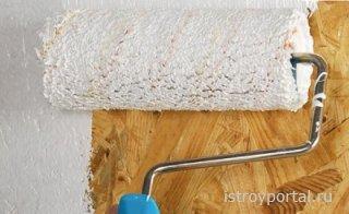 Как покрасить ОСП-плиту
