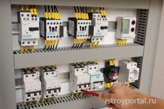 Монтаж электрощитового оборудования