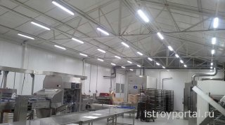 Светодиодные системы для складских помещений