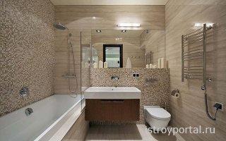 Обустройство ванной комнаты и санузла
