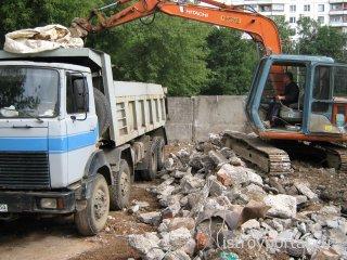 Вывоз мусора и строительных отходов